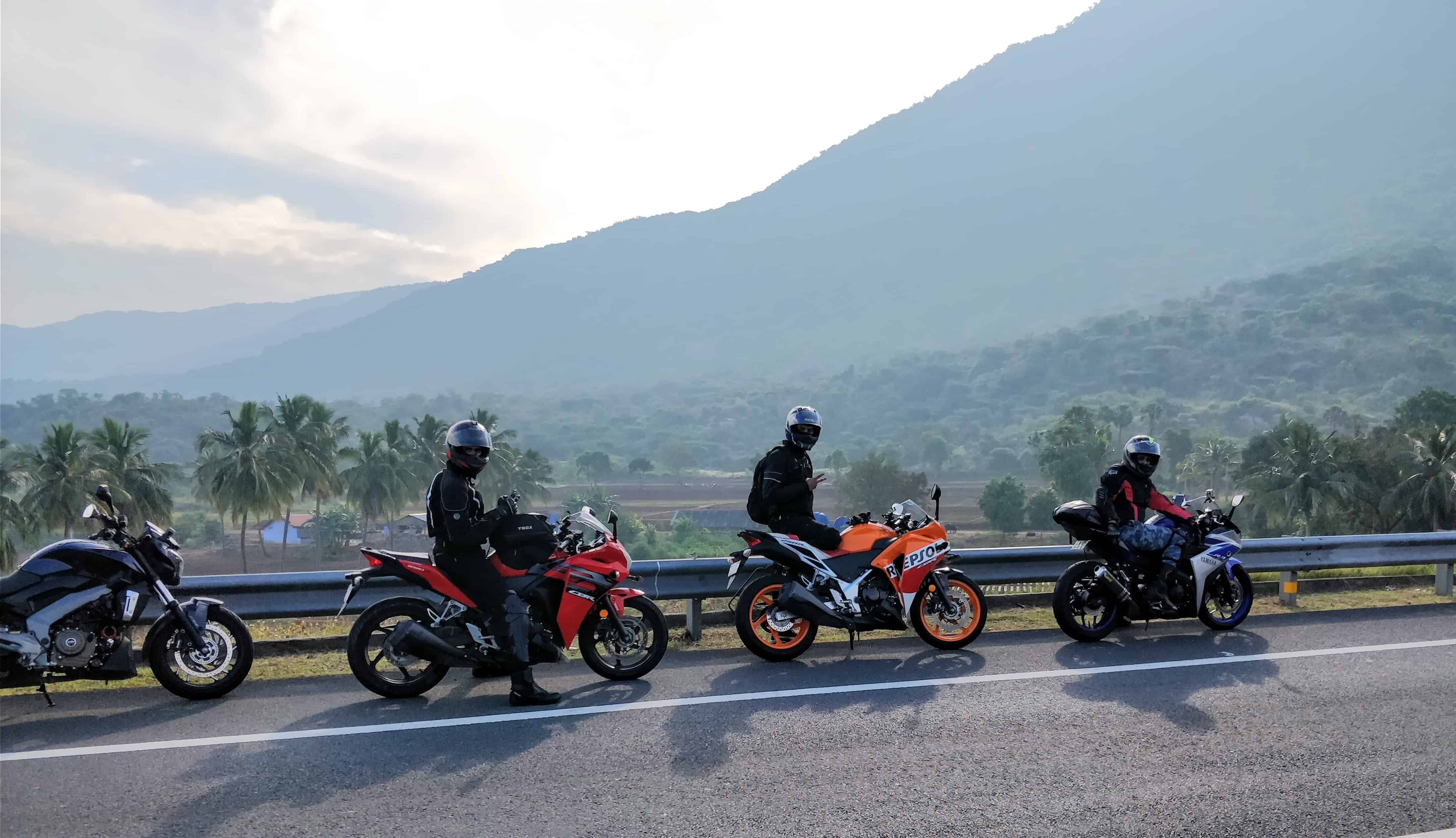 Motorcycle group riding: motorcycling experience personified